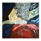 El collar. Oleo sobre lienzo. 100 x 100 cm