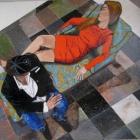 Olga y yo. Oleo sobre lienzo. 200 x 180 cm