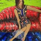 Olga. Oleo sobre lienzo. 120 x 180 cm.