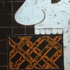 El comefuegos. Oleo sobre lienzo. 80 x 120 cm.