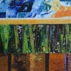 Campo de trigo. Oleo sobre lienzo. 100 x 60 cm.