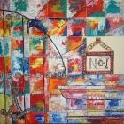 Obispo Toral nº 7. Oleo sobre lienzo. 100 x 100 cm.