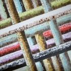Tubos. Oleo sobre lienzo. 160 x 130 cm.