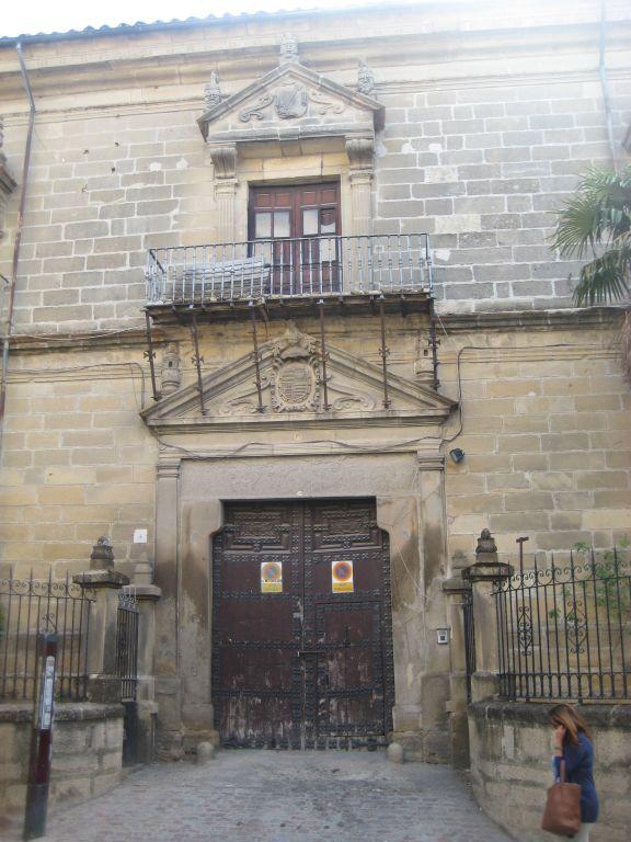 Rehabilitaci n del palacio de los bussianos para hotel en - Hotel palacio de ubeda ...