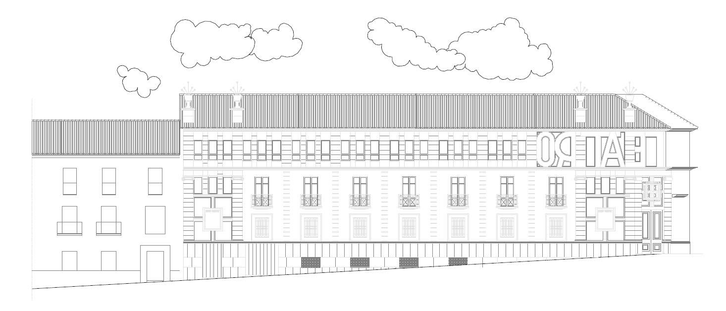 Escuela municipal de hosteler a en el teatro principal de - Arquitectos en ubeda ...