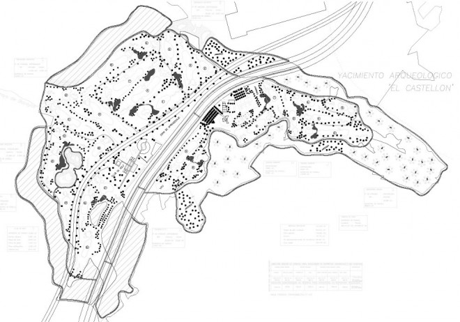 Concurso para campo de golf en monte Vacayo Beas de Segura
