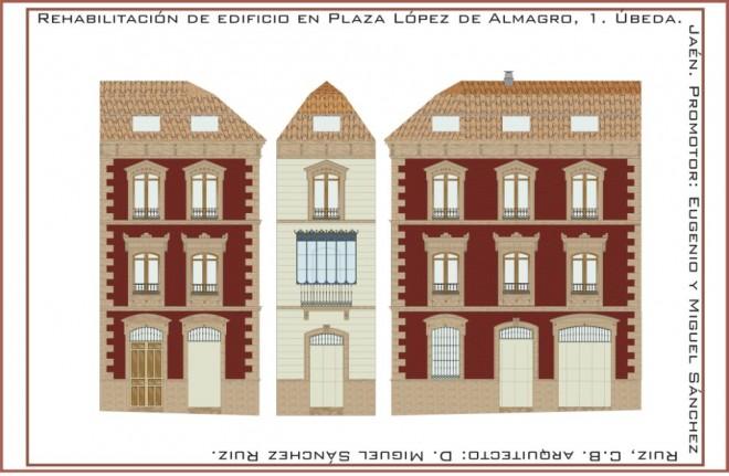 Fachada Lopez Almagro