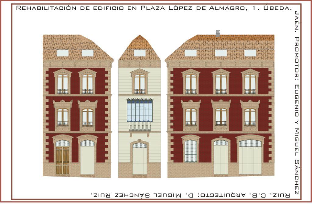Rehabilitaci n de edificio para viviendas y local en beda - Arquitectos en ubeda ...